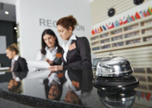 receptionist recruitment manchester