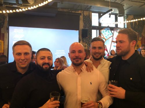 Manchester Staff Sponsors Networking Event