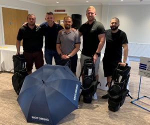 Manchester Staff Supports Local Community Golf Event